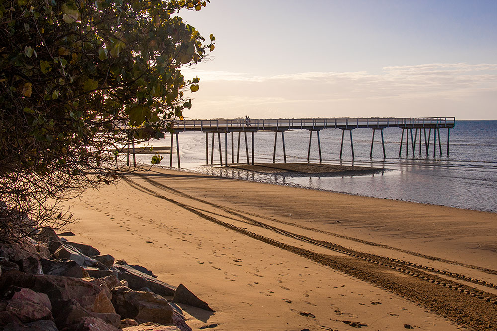 scarness pier, hervey bay