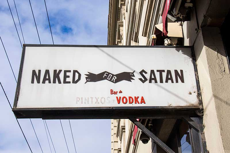 naked for satan, melbourne