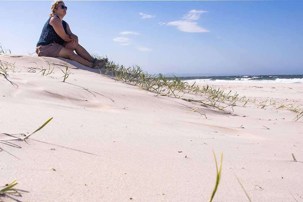 Belongil beach, byron bay