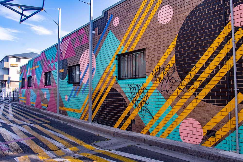 street art i Byron Bay