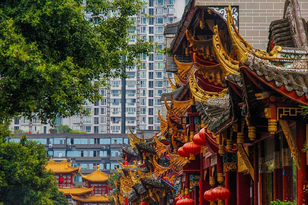 Qintai Road, chengdu